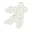 カタカナのペンキ文字「ォ」
