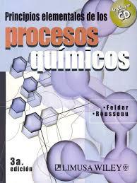 felder principios elementales de los procesos quimicos