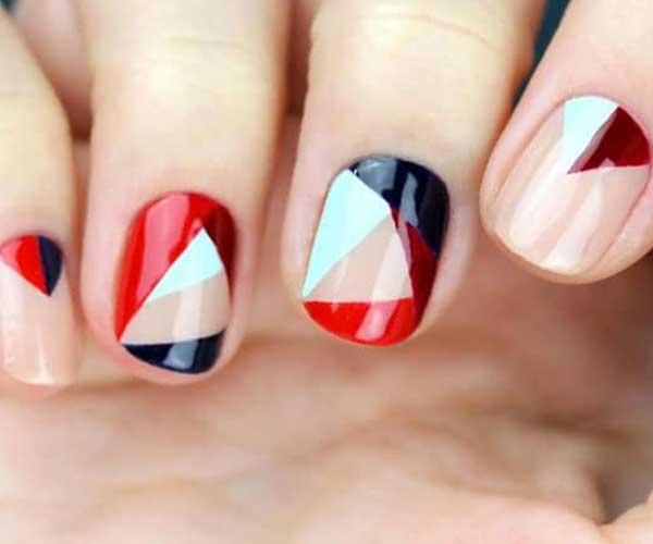 Geometric Nails Art Designs