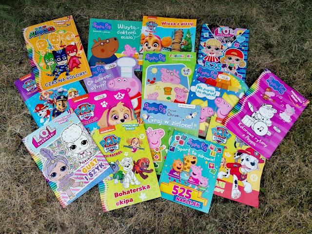 Nowości w magazynach kolorowych dla dzieci