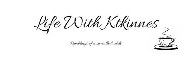 The image shows the logo for Life With Ktkinnes Blog