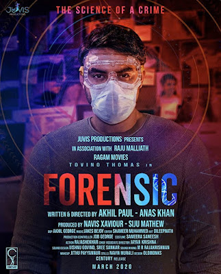 Forensic 2020 Malayalam 480p TRUE HDRip 400MB With Bangla Subtitle