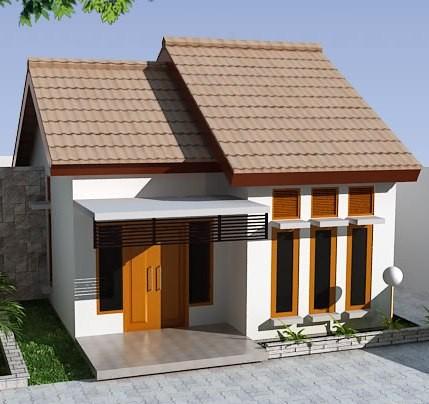 model rumah kecil sederhana 3