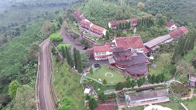 View Drone Puncak Rembangan Jember