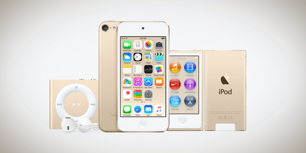 Apple iPod Touch 6 announced, alongside new iPod Nano and iPod Shuffle