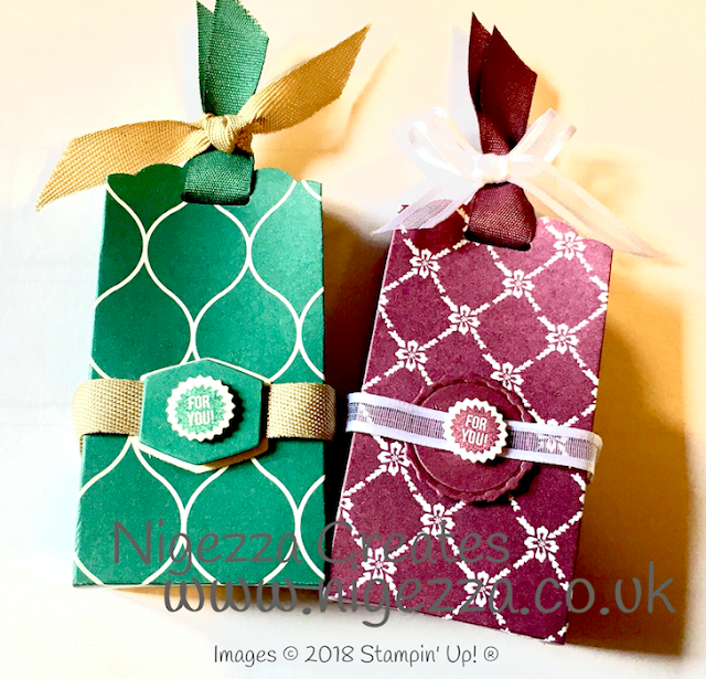 Tag Topper Gift bag