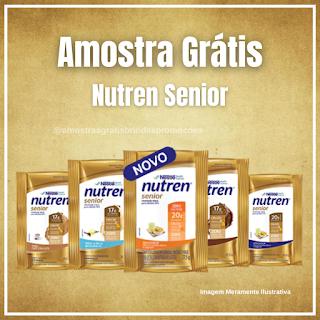 Amostra Grátis Brinde Grátis Nutren Senior