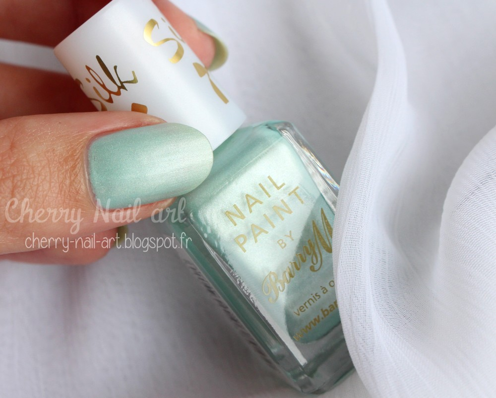 vernis Barry M n°411 Meadow collection Silk