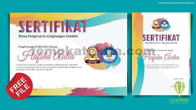 Download Sertifikat OSIS Kegiatan PLS Photoshop Dan Coreldraw