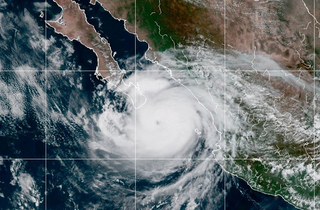 """SCT preparada ante el inminenteingreso del huracán """"Olaf"""""""