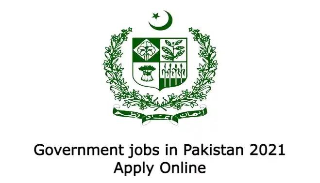 Government jobs in Pakistan 2021 Apply Online