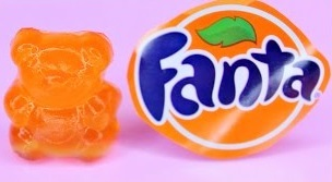 DIY FANTA SODA GUMMY BEARS! How To Make Fanta Soda Gummy Bears