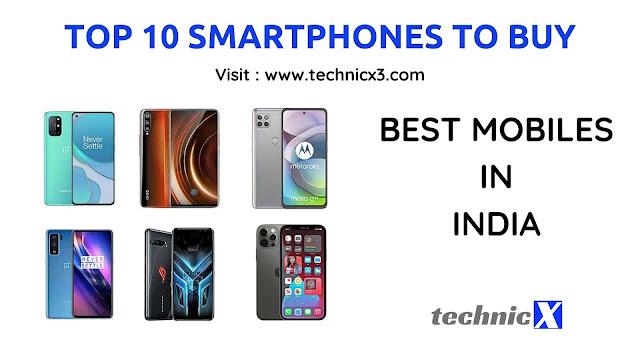 Top 10 Smartphones to buy in India