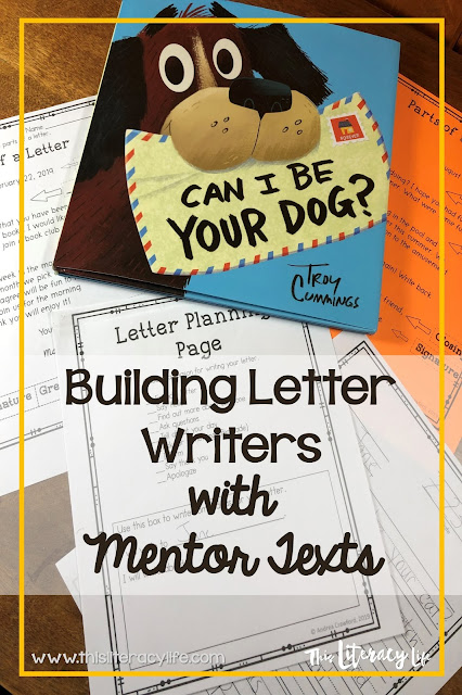 Make teaching letter writing with your students fun with this fun mentor text. The ideas this book and unit give you and your students will make any lesson fun!