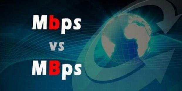Tahukah Kamu Perbedaan Kecepatan (Speed)  internet Bedanya Mbps dan KBpsTahukah Kamu Perbedaan Kecepatan (Speed)  internet Bedanya Mbps dan KBps