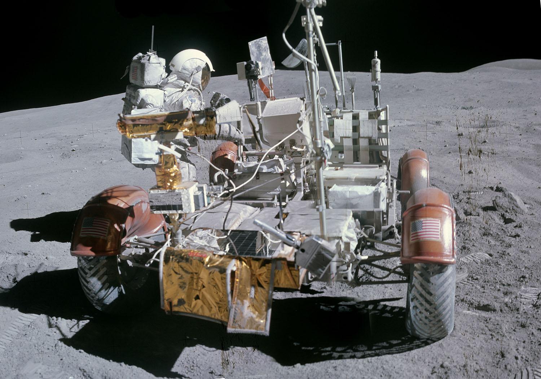 Аполло́н-16 Лунный ровер 3