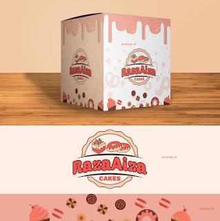 Jasa Logo Kue dan Kemasan
