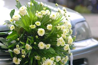 Bunga Mobil Penganten