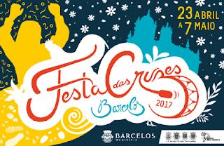 Programa Festa das Cruzes 2017 Barcelos