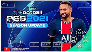 Download PES 2021 PPSSPP UCL Version 2 Edition New Minikits 2022 & Peter Drury Commentary