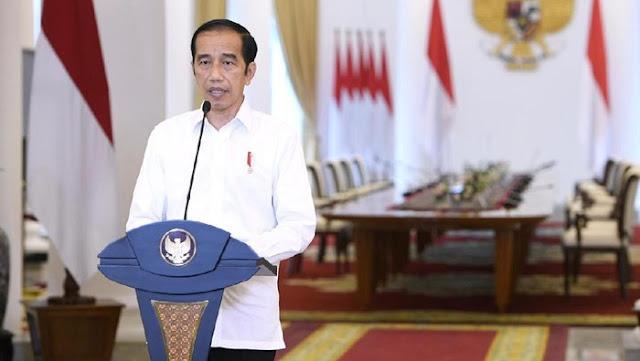 Jokowi: Kasus Aktif COVID-19 RI Turun Sekali, Lebih Baik dari Dunia