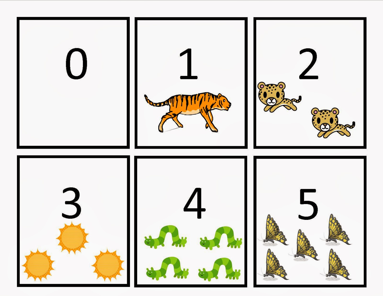 Made By Martha: Number Flashcards: 1-20