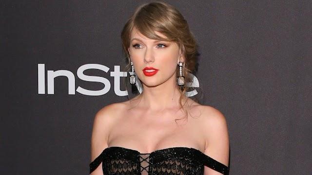 Taylor Swift aparece por sorpresa en los Globos de Oro y entrega un premio a Lady Gaga
