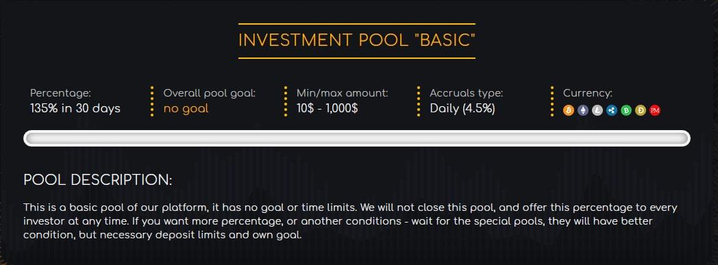 Инвестиционные планы DDoX