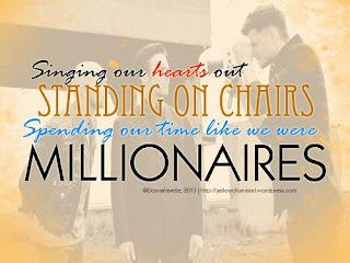 The Script Lyrics - Millionaires