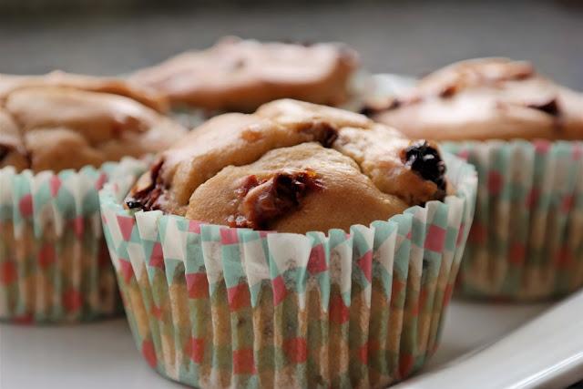 Kuru Domatesli Muffin (Siyez Unlu)