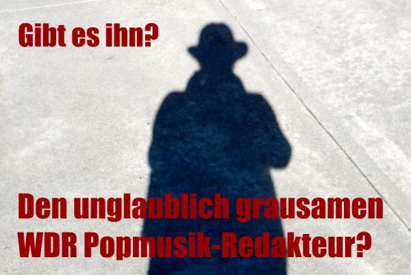 Musik, Popgedudel, Endlosschleife, WDR, nervig, ARD, Satire, Radio, Redakteur, ständige Wiederholung