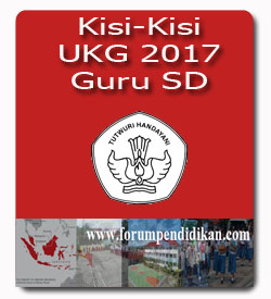 Kisi-Kisi UKG 2017 untuk Guru SD