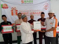 BMH Jateng Salurkan 1.510 Paket Lebaran Untuk Dai dan Dhuafa