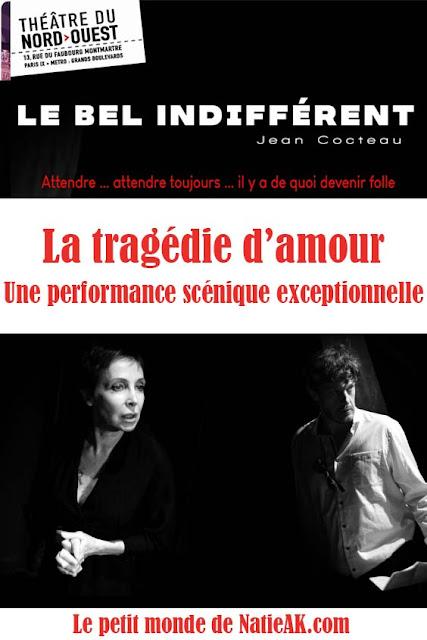 avis sur Le Bel Indifférent Théâtre Nord-Ouest