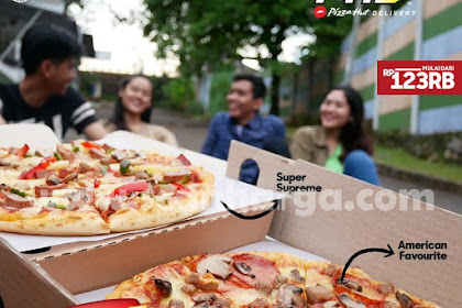 Promo PHD Terbaru Double Box Paket 2 Pizza Harga Mulai 100 Ribuan