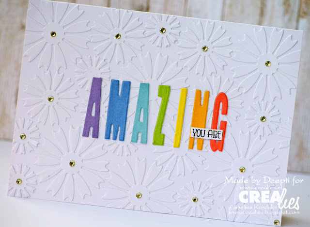 You are amazing handmade card