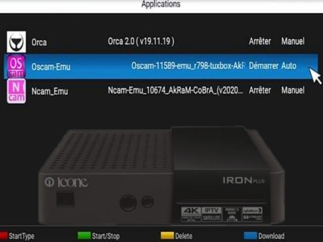 احدث اصدار بلوجين Oscam-11678 لأجهزة ايكون icone الكورية