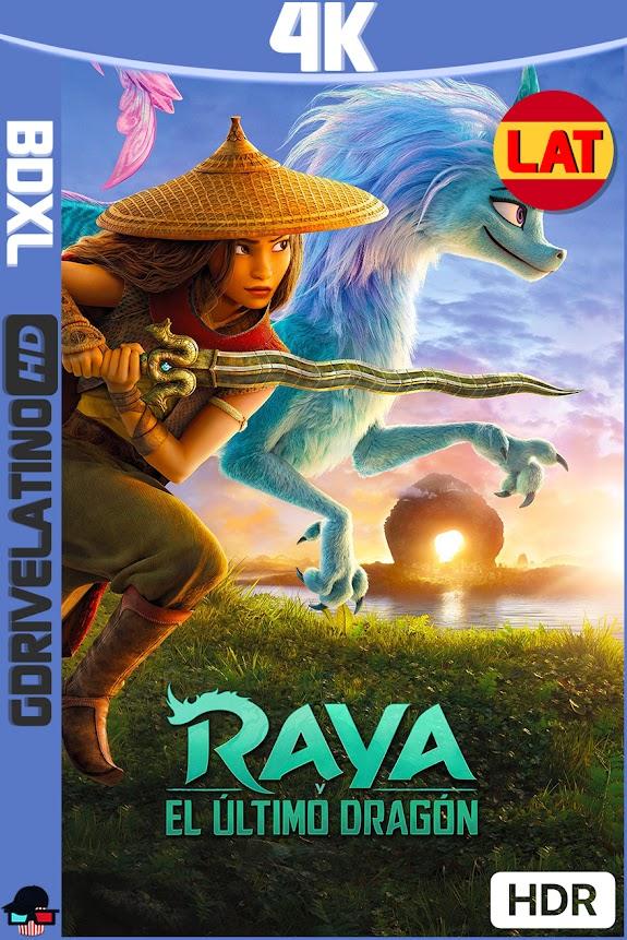 Raya y el Ultimo Dragón (2021) BDXL 4K HDR Latino-Ingles ISO