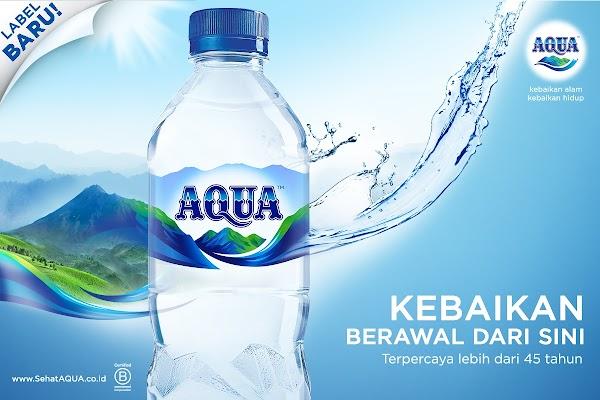 Manfaat Air Mineral Aqua