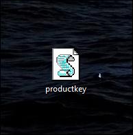 رمز مفتاح المنتج