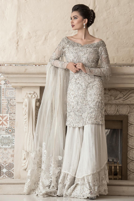 Bridal Dress for Nikah by Nilofer Shahid