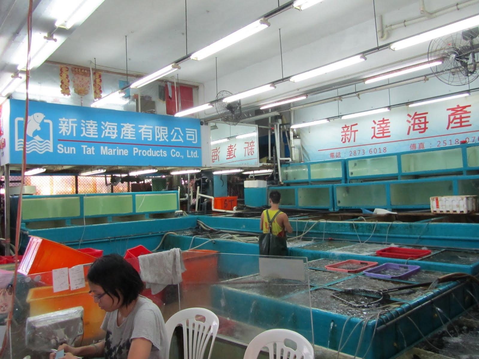 其他經歷: 參觀香港魚類統營處