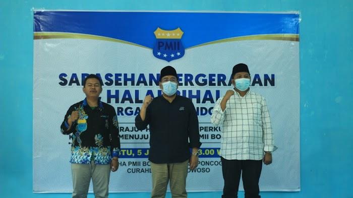 Sarasehan Pergerakan dan Halal Bihalal bersama Keluarga PMII Kabupaten Bondowoso