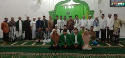 Mahasiswa KKN Universitas Malikussaleh Membantu Kegiatan Safari Subuh Bersama Dewan Masjid Indonesia Kota Binjai