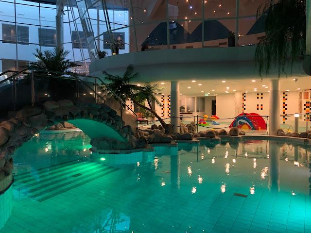 Loma kylpylässä talvella - kokemuksia Holiday Club Kuusamon Tropiikista