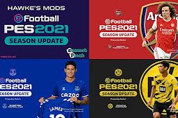 7 Team Graphic Menu Mod - PES 2021