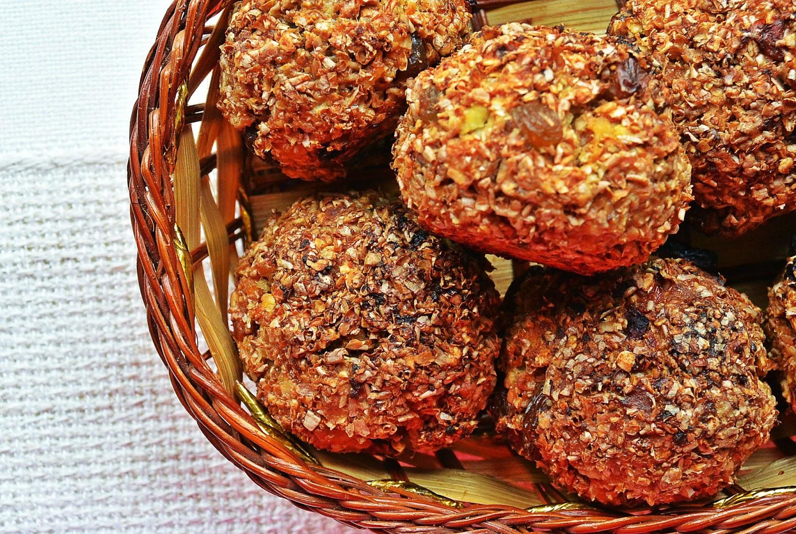 Otrębowe muffiny