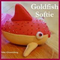 pez dorado en fieltro