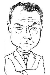 Jack Dee Caricature Sketch by IDB