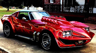 sporty style custom modifications corvette